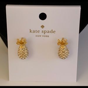 Kate Spade By the Pool Pineapple Stud Earrings